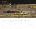 Vasúti forgalomirányító szimulátorok